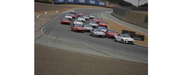 Powers Wins Mazda Race of NASA Champions Mazda Raceway Laguna Seca