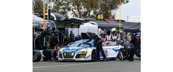 Flying Lizard Audi Still Leading NASA 25 Hours of Thunderhill presented by Hawk Performance at 19 Hours