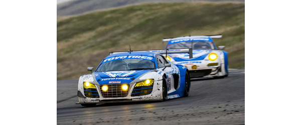 Flying Lizard Audi Wins NASA 25 Hours of Thunderhill presented by Hawk Performance