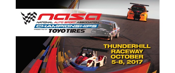 Follow All the Racing Action Live From the 2017 NASA Western States Championships at Thunderhill Raceway