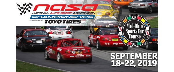 Follow All the Racing Action Live from the 2019 NASA Championships at Mid-Ohio