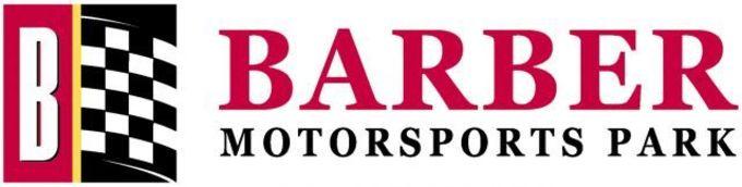 Thumb barber motorsports park logo