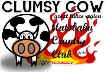 Thumb event the clumsy cow