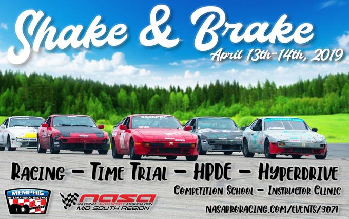 Thumb shake and brake